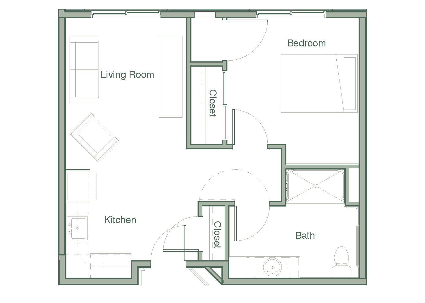 The Canyon Floor Plan