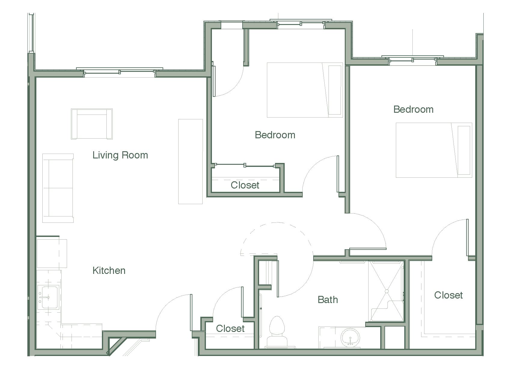 Floor Plans Legacy House Of Avondale Diagram Showing An Example A Plan Sample